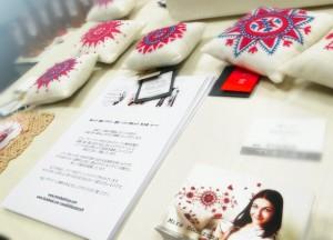 ミラさんのハランドソム刺繍